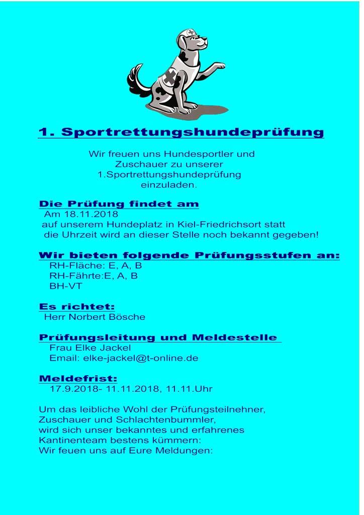 %GSV-Friedrichsort 1. Rettungshundeprüfung