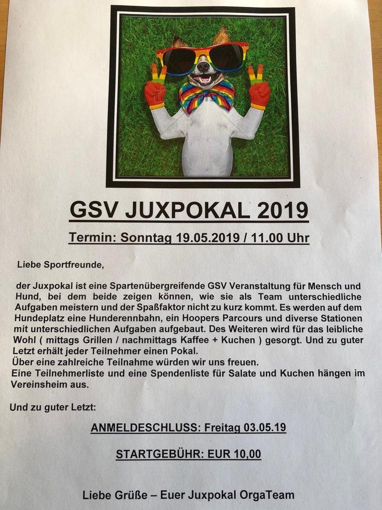 %GSV-Friedrichsort Einladung zum Juxpokal