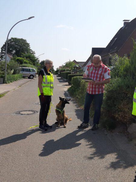 %GSV-Friedrichsort Mantrailer Prüfung beim HSV Eidertal
